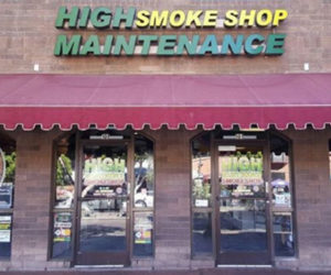 Stop by HIGH Maintenance Smoke Shop today!